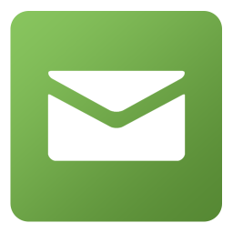 Mail icon and link..